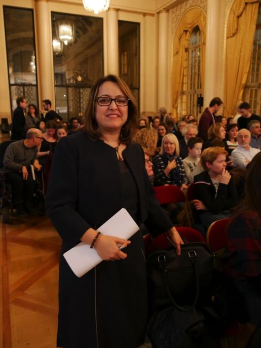 Lynda Aït-Bachir, poète, Déléguée générale de Poésie en liberté