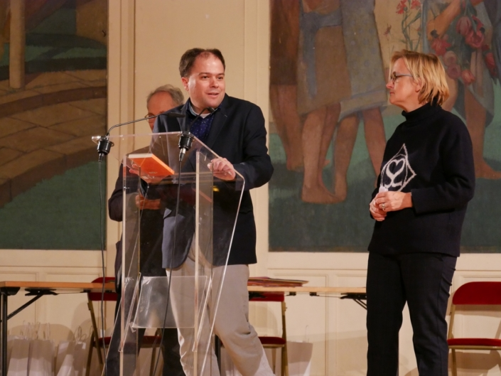 Matthias Vincenot et Florence Berthout