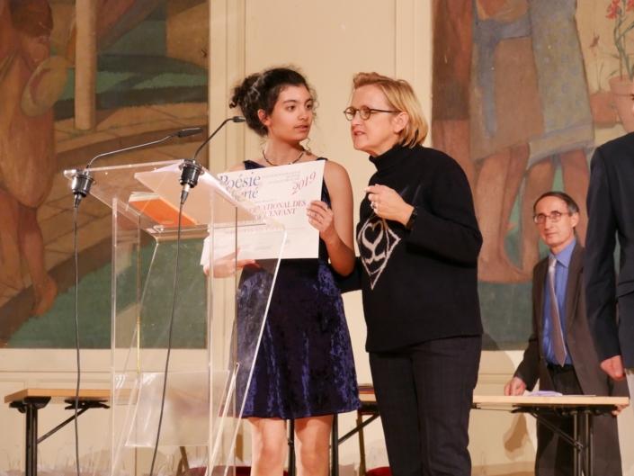 Selma Bendada et Florence Berthout, Maire du 5ème, Conseillère régionale d'Île de France, Présidente du FRAC, membre du CH