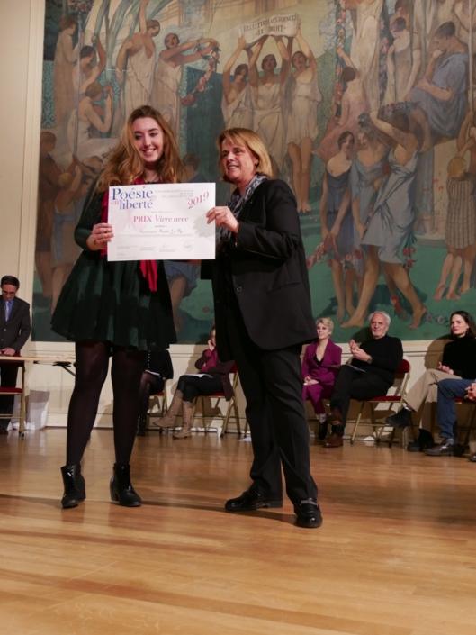 Anaïs Lo Re Françoise Béziat, Présidente de la Fondation Jacques Chirac, Conseillère régionale de Nouvelle Aquitaine, membre du CH