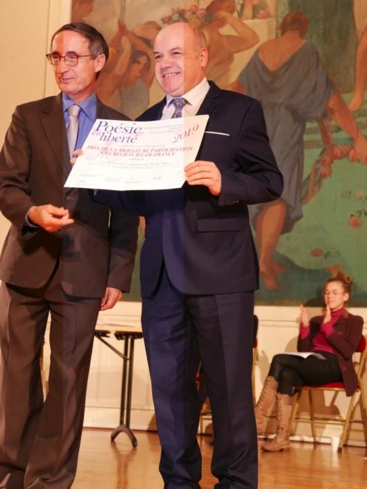 Gilles Tabard, Président délégué et Auguste Nogueira, Directeur adjoint des Compagnons du