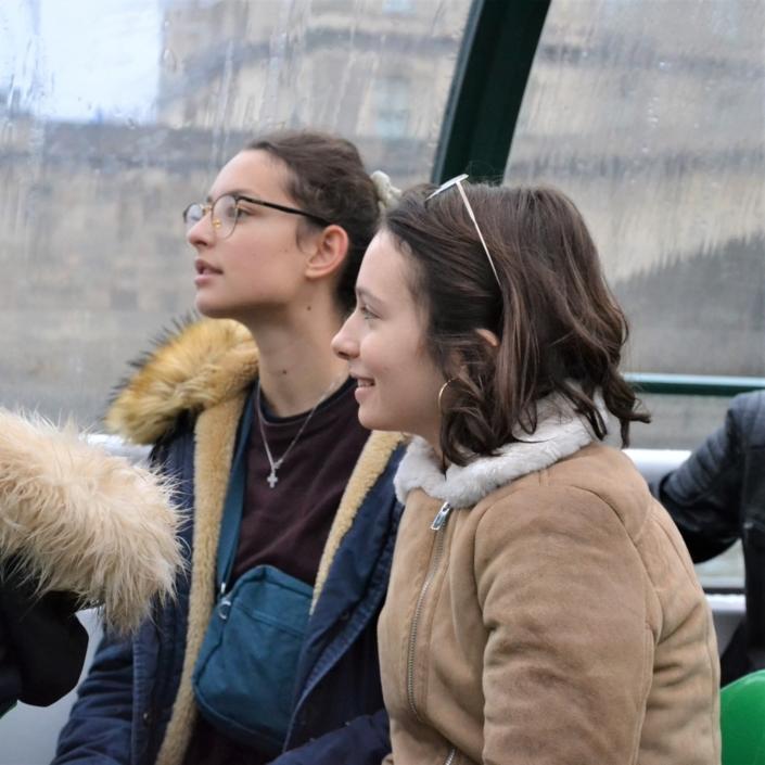 Jeanne Roux et Agathe Vermot-Desroches