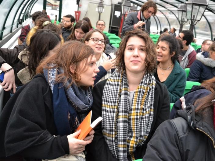 Les jurées Pauline Belshi et Marine Laffort