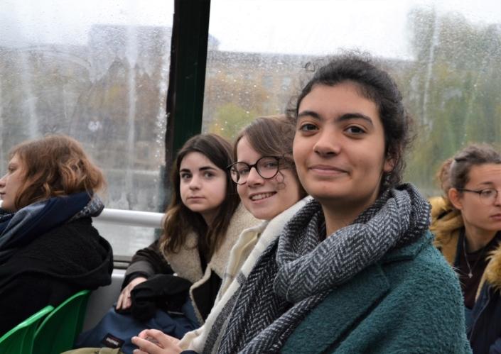 Bleuenn Gacel, Aliénor Cornudet et Selma Bendada