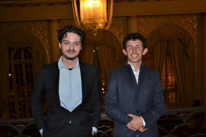 Yanni Khalfoune d'Alger et Ghjuvan Francescu Luciani de Corte