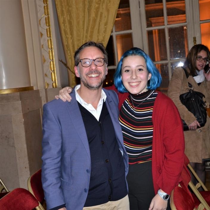 Arnold Kristof et sa fille Emanuelle