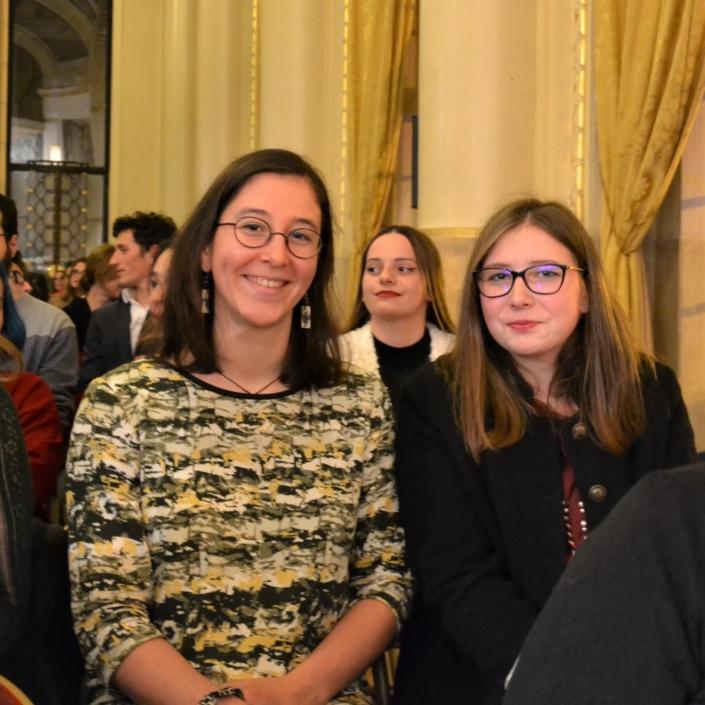 Les lauréates de l'enseignement agricole, Cécile Cantat et Axelle Ferard