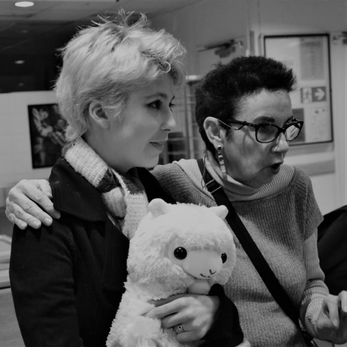 Léa Furic, Robert et Nicole Simonet, Vice-Président d'honneur