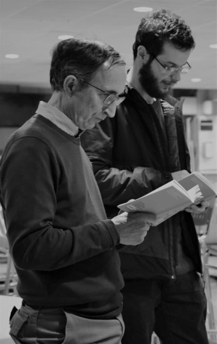 Gilles Tabard et Miguel Rocha Bento