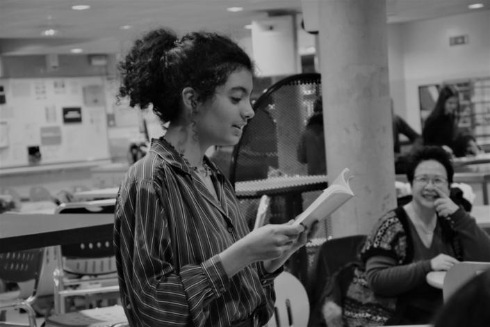 Selma Bendada sous le regard de Yen Kuan
