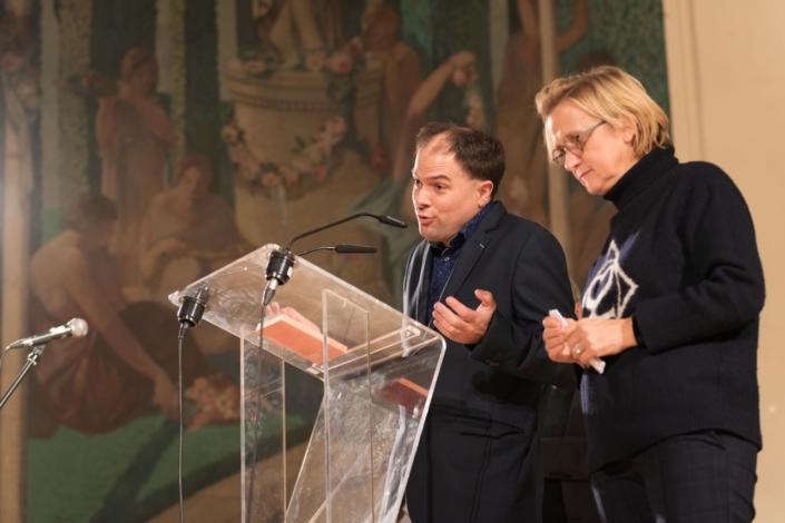 Matthias Vincenot et Florence Berthout, Maire du 5ème