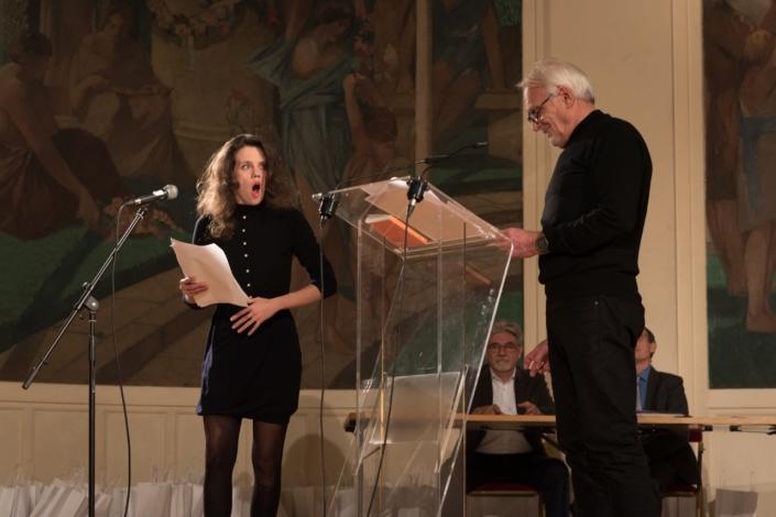 Alexandra Oppo et Didier Flamand