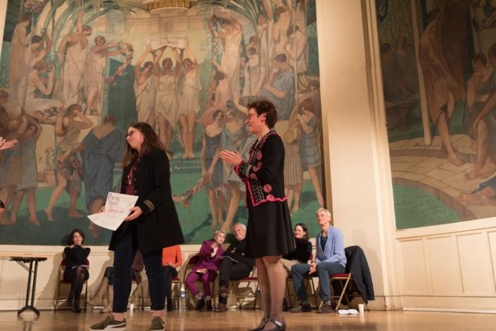 Axelle Ferard et Joëlle Guyot, sous-directrice-adjointe à la DGER, Ministère de l'agriculture et de l'alimentation
