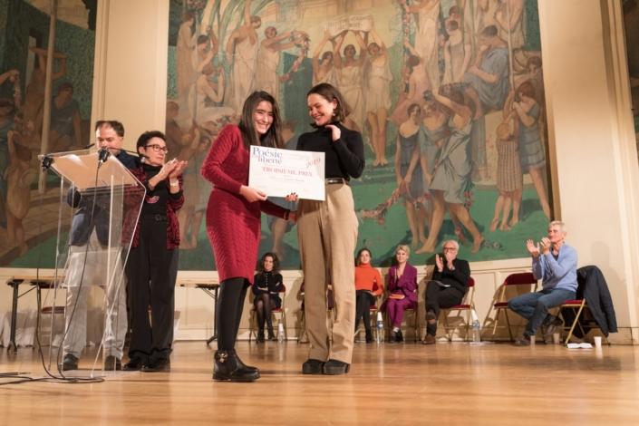 Letissia Titouah et Clémence Boisnard, comédienne