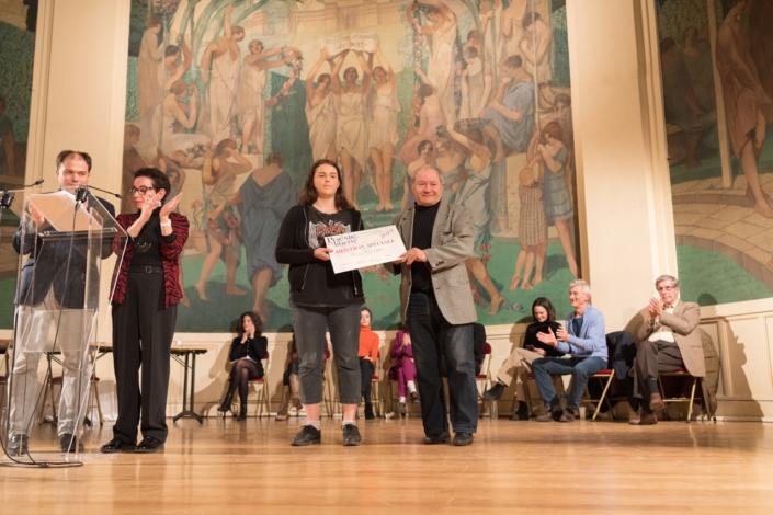 Aurore Cuguen et Francis Piazza, Trésorier de Poésie en liberté