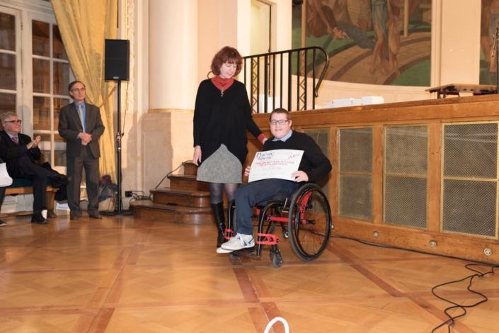 Nicolas Golliot et Véronique Besancenot-Morin, administratrice nationale de l'Alefpa