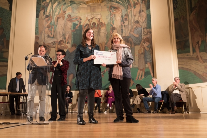 Niamh Fontaine et Danièle Levinas, Poète et Professeure de musicologie à Sorbonne université