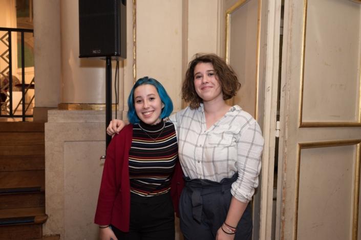 Emanuelle Kristof Tessier et Marine Laffort, Jurée 2019