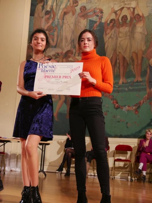 Selma Bendada et Lou Gala, comédienne