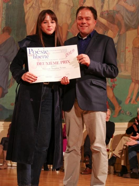 Joséphine Vernay et Matthias Vincenot, poète, directeur artistique
