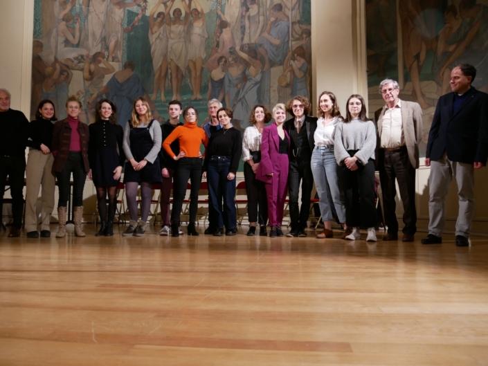 les comédiens, les jurés et les sélectionnés pour l'anthologie 2019