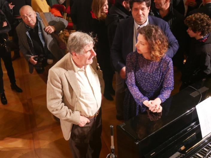 Bernard Menez, Maïa Brami, Foc Kan et Charles-Jacques Martinetti