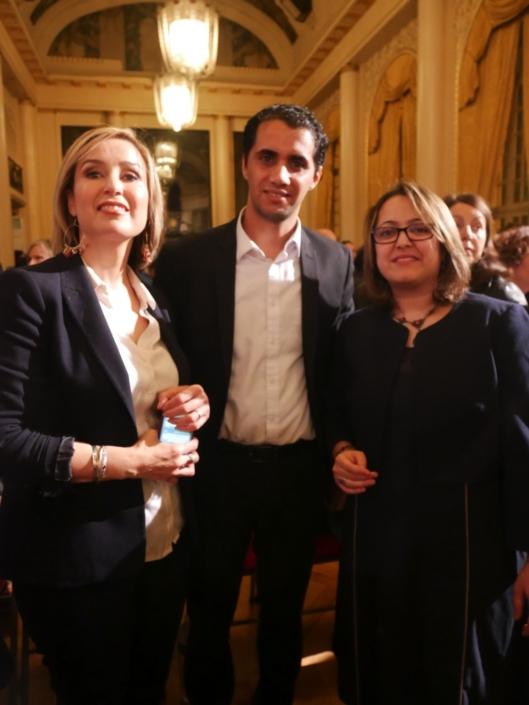 Louisa Nadour, Zakaria Megghni et Lynda Aït-Bachir