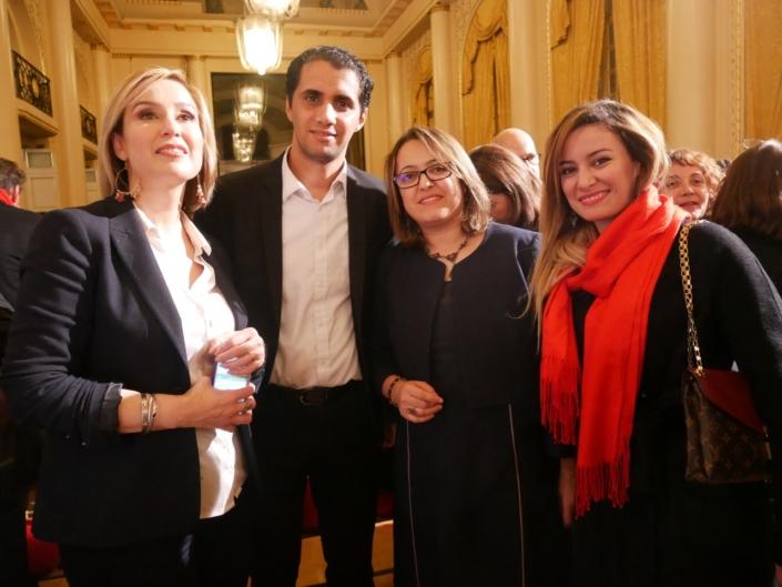 Louisa Nadour, Zakaria Megghni, Lynda Aït-Bachir et Eliane Ghanem Chebel