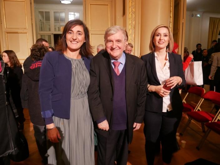 Dalila Kaabeche, Jean-Marc Muller et Louisa Nadour
