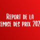Report de la Remise des prix 2020
