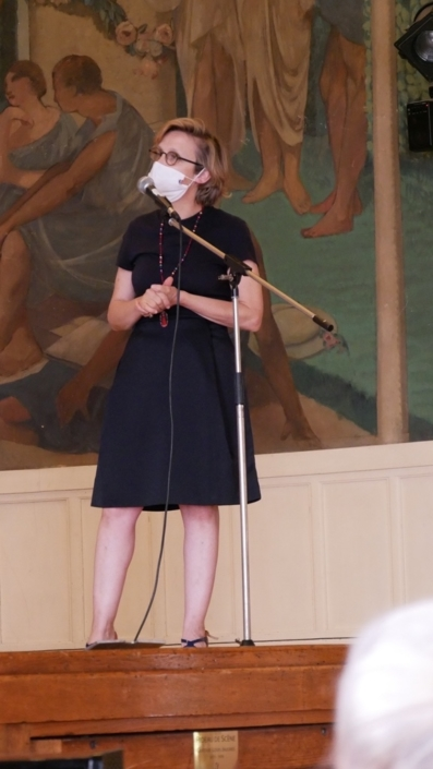 Madame Florence Berthout, Maire du 5ème arrondissement de Paris, Conseillère régionale d'Île-de-France