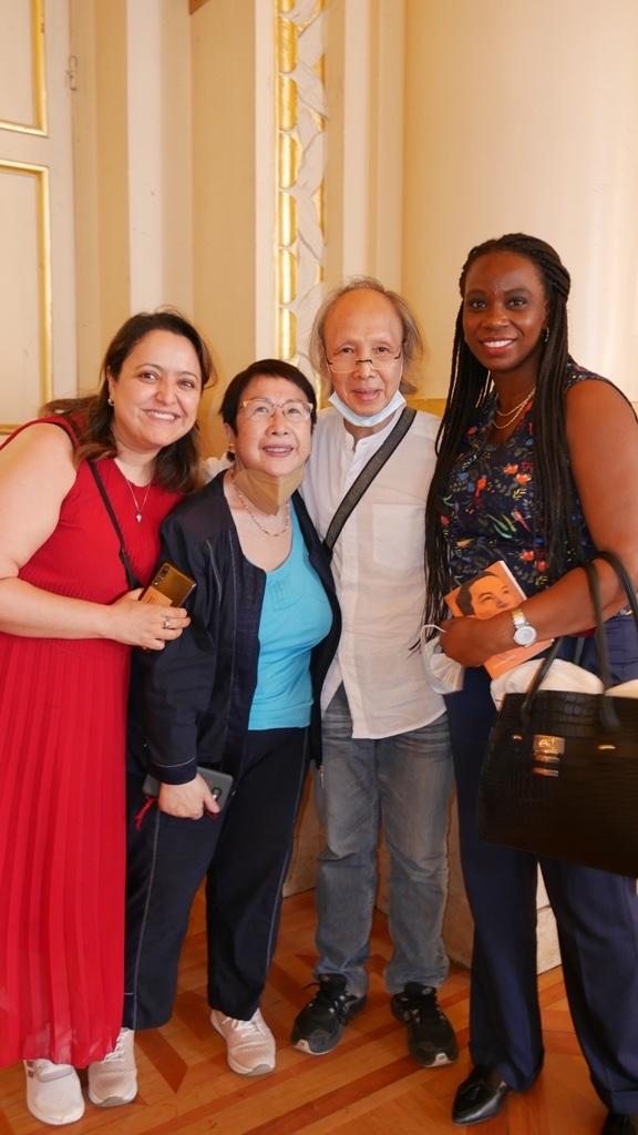 Lynda Aït Bachir, Yen Kuan, Loc Kan, Adjoua N'Guessan Alice Yao