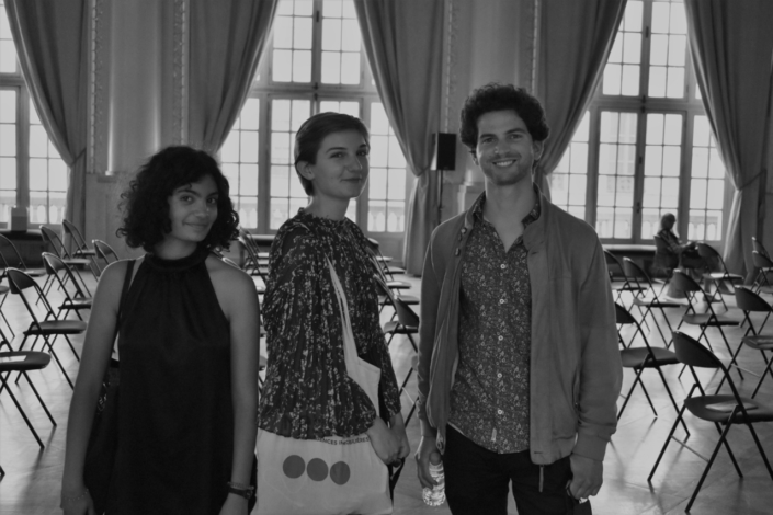 Une rencontre de lauréats : Selma Bendada (2019), Juliette Cordier (2020), Louis Cammarata (2018)