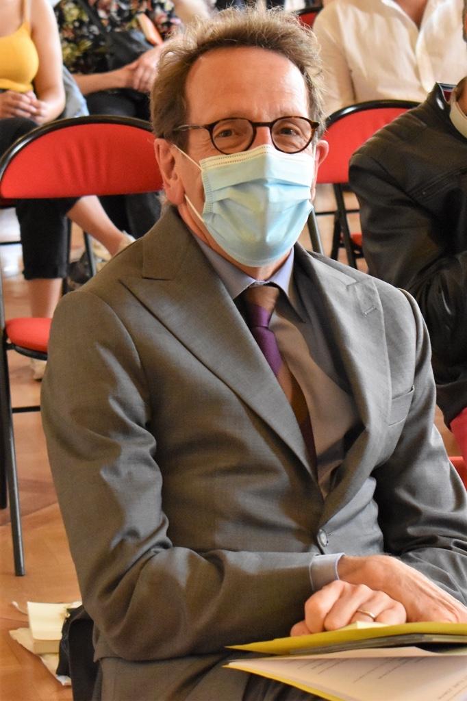 Le député Gilles Le Gendre, membre du Comité d'honneur, du Comité de lecture, toujours fidèle au rendez-vous