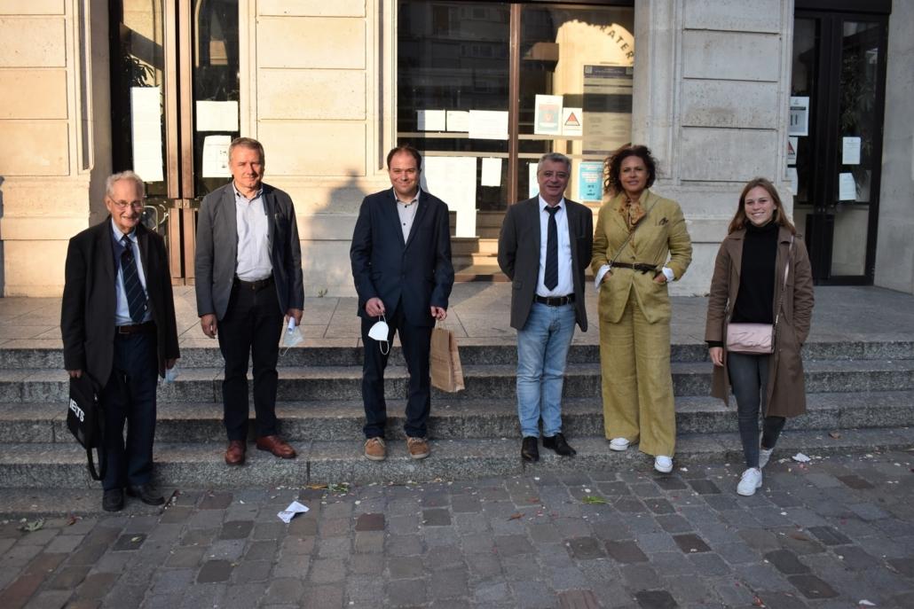 Mairie du 15ème, Pierre Brunel, Francis Comby, Matthias Vincenot, Frédéric Jacquot, Viktor Lazlo et Maïra Schmitt
