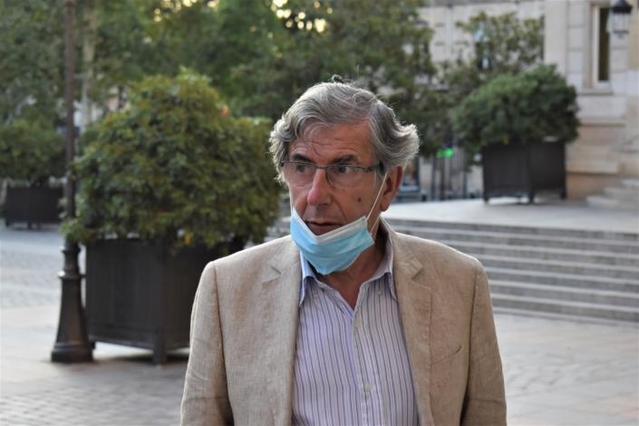 Bernard Menez, comédien, metteur en scène
