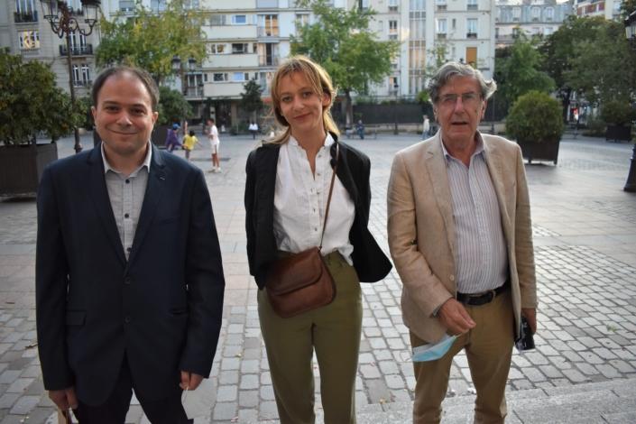 Matthias Vincenot, Marcia Higelin et Bernard Menez