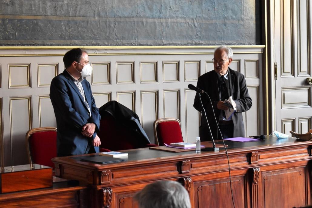 Matthias Vincenot et Pierre Brunel