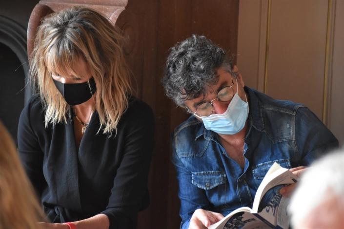 Romane Serda et Yvan Cujious