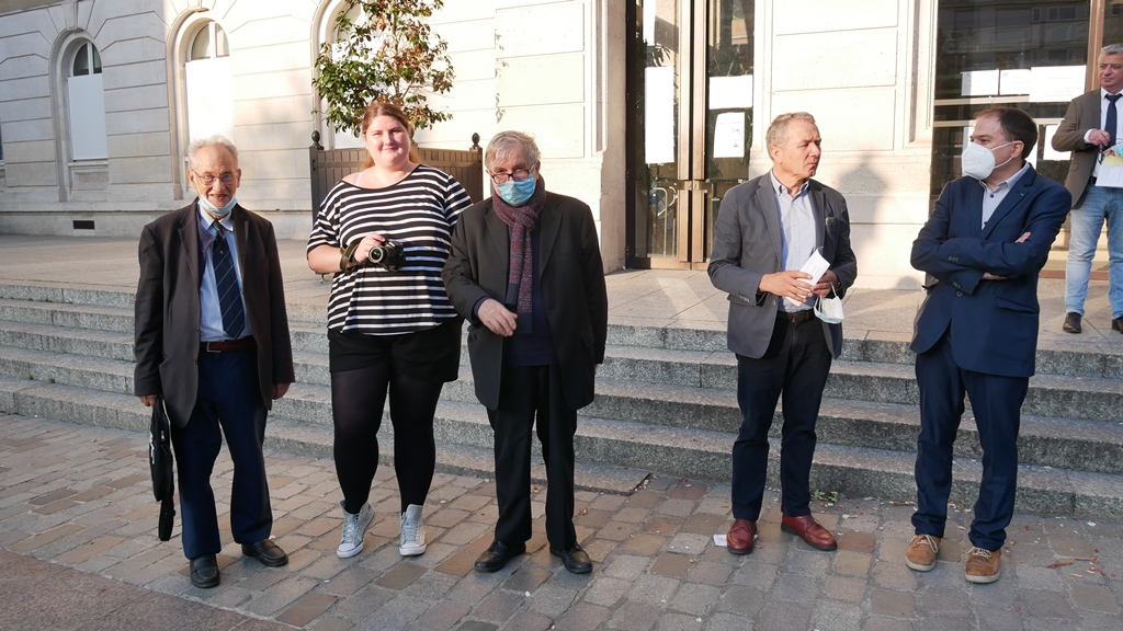 En attente du Comité d'honneur, Pierre Brunel, Margarita Stroganova, Jean-Marc Muller, Francis Comby, Matthias Vincenot