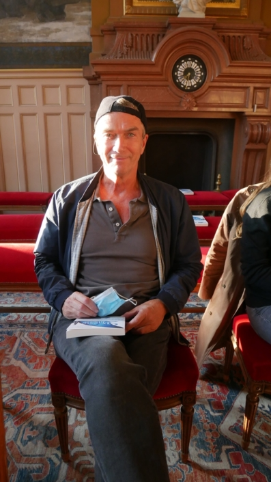 le comédien Philippe Caroit
