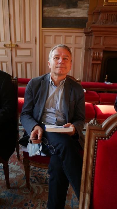 Francis COMBY, vice-Président du Conseil départemental de la Corrèze en charge des finances, Président de la Communauté de communes du Pays de Lubersac-Pompadour