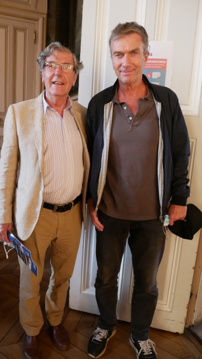 Bernard Menez et Philippe Caroit