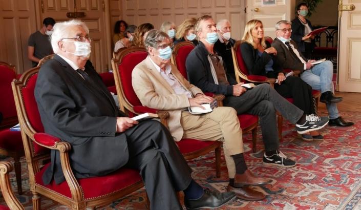 Jean-Pierre Sueur, Bernard Menez, Philippe Caroit, Agnès Evren, Frédéric Jacquot