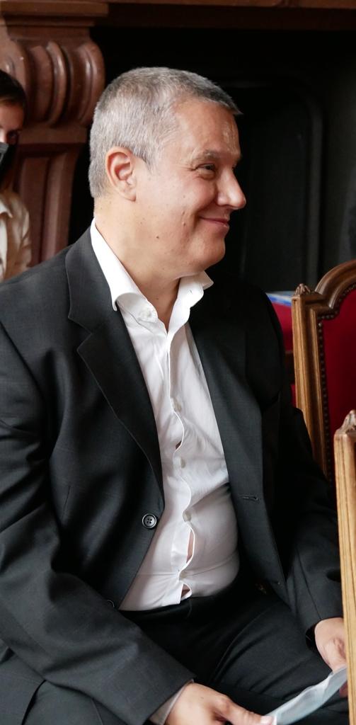 Eric Meadmore, Responsable veille, MAEE, délégué par le président Louis Dominici