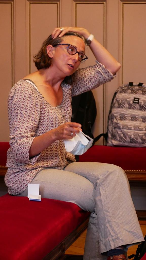 Clotilde Truffaut, présidente de la MGEN-SEM