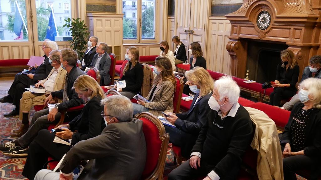 Salle des mariages, réunion du Comité d'honneur
