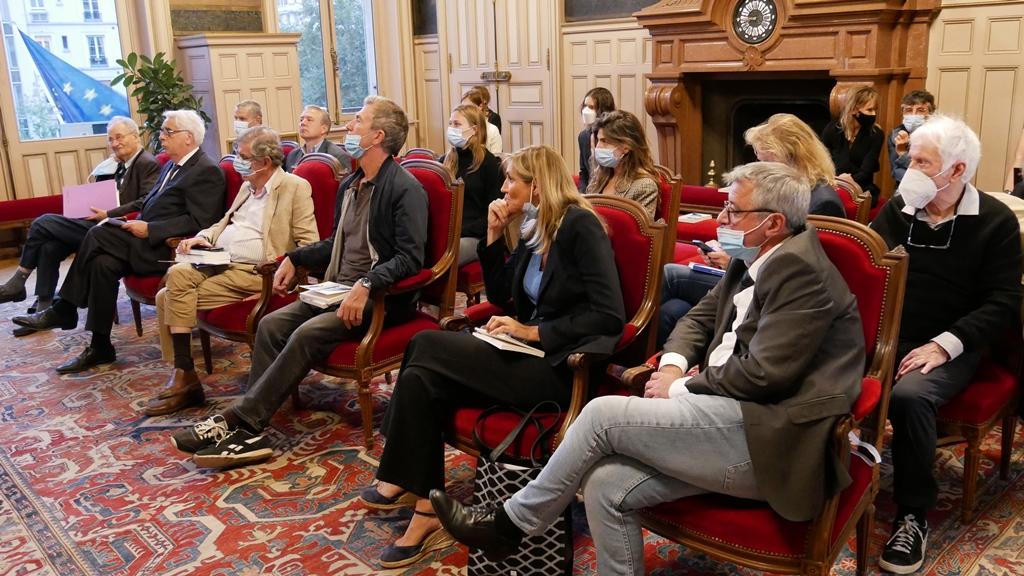 Réunion du Comité d'honneur, 1er septembre 2021
